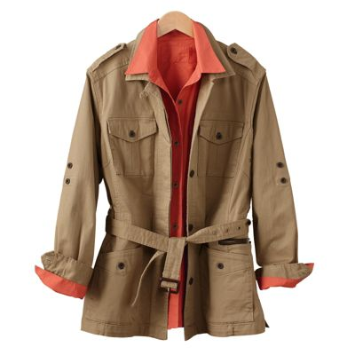 Women's Safari Jacket