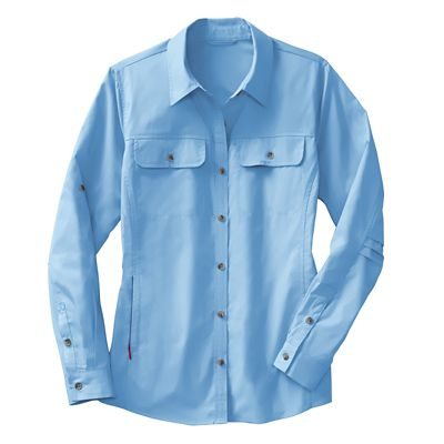 Plus Size Women's Ultimate Great Escape Long-Sleeved Shirt