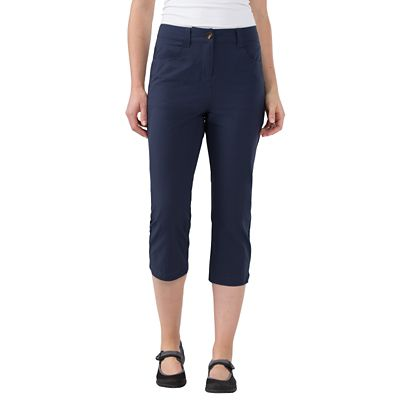Plus Size Women's FlyAway Cropped Pants