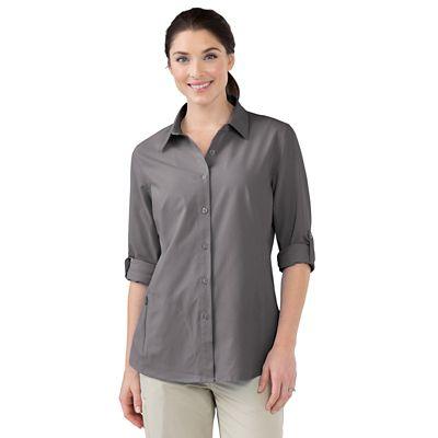 Plus Size Women's FlyAway Shirt