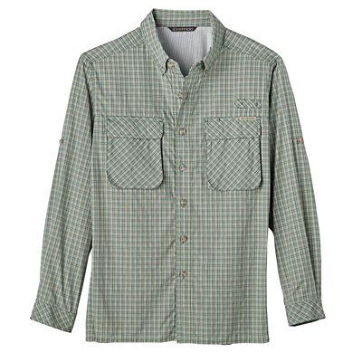 Men's ExOfficio Air Strip Micro Plaid Shirt