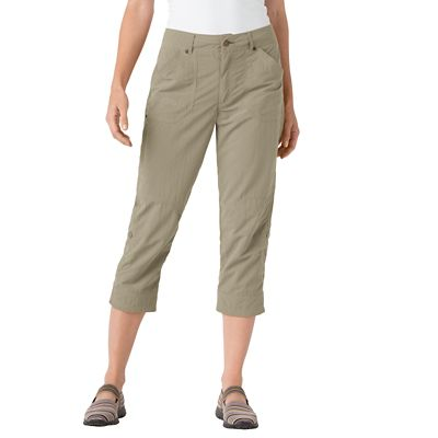 Women's Classic Fit Featherweight Capris