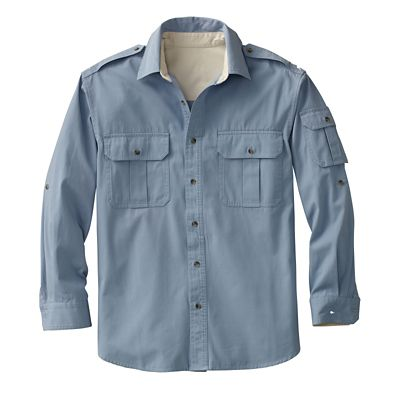 Bush Poplin Destination Shirt