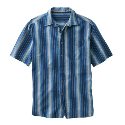 Boys Wear Blue Striped Shirt