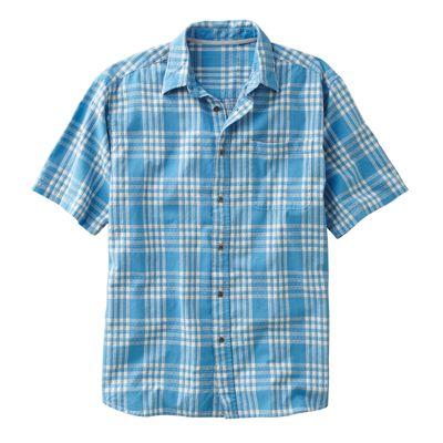 Boys Wear Blue Plaid Shirt