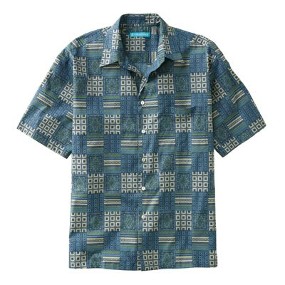 Tori Richard Block Party Hawaiian Shirt
