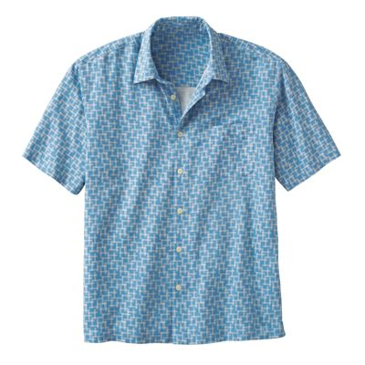 Men's Cliff Print Shirt