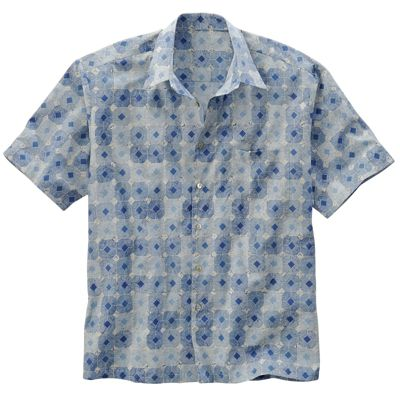 Tori Richard Classic Tac-Tile Hawaiian Shirt