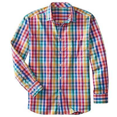Cotton No-Iron Parade Check Shirt