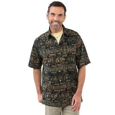 Batik Solar Totem Shirt