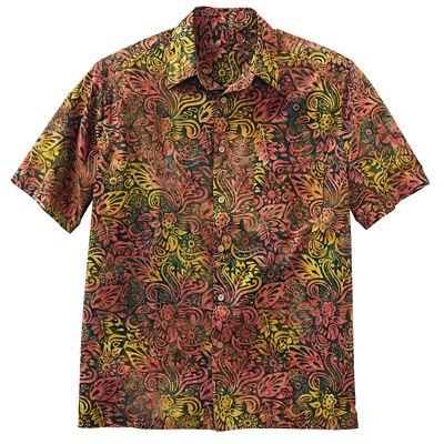 Batik Kaleidoscope Jungle Shirt