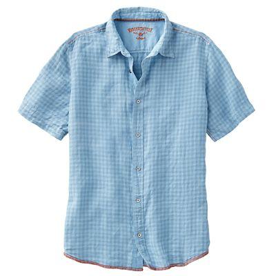 Margaritaville Gingham Linen Shirt