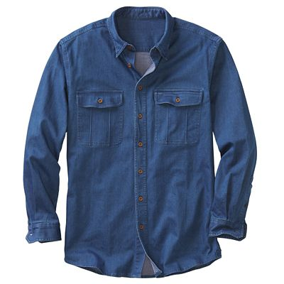 Men's Signature Denim Shirt