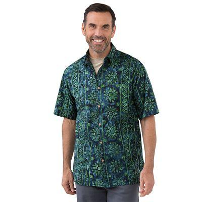 Batik Lotus Shirt