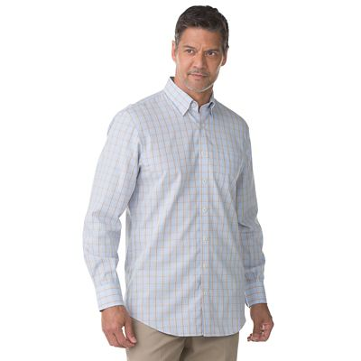 Enro Non-Iron Poplin Check Shirt