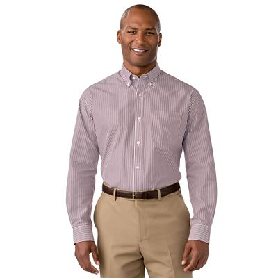 Cutter & Buck Epic Easy-Care Mini Bengal Shirt