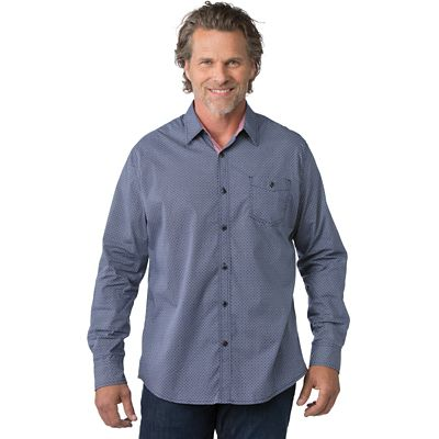 Weatherproof® Poplin Long Sleeve Shirt