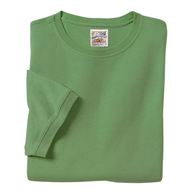Washable Silk-Cotton T-Shirt