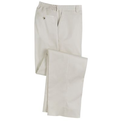 8-Days-a-Week Flat-Front Twill Pants