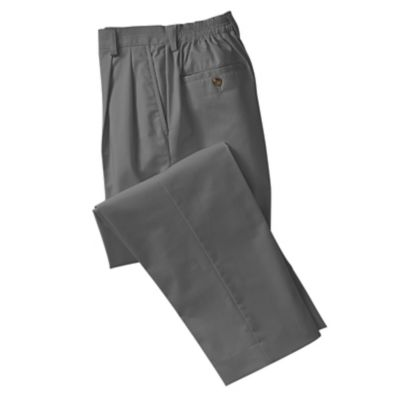 8-Days-a-Week Pleated Twill Pants