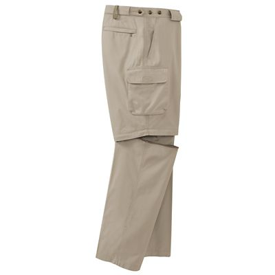 Men's Bush Poplin Convertible Pants