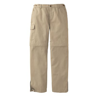 Women's Bush Poplin Convertible Pants