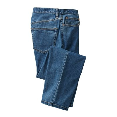 Relaxed-Fit Comfort Denim Travel Jeans