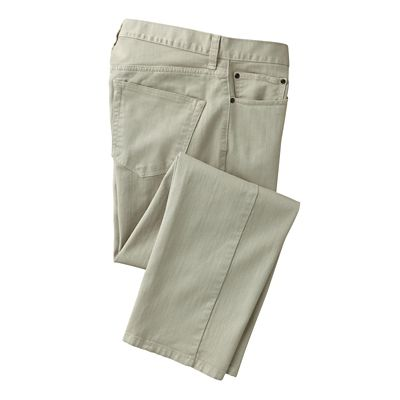 Stretch Bull-Denim Travel Jeans