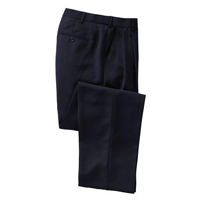 World-Class Microfiber Pleated ComfortSizer Pants
