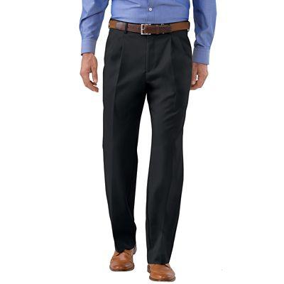 Washable Wool Pleated Pants