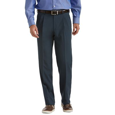 Tropical Microfiber Pleated ComfortSizer Pants