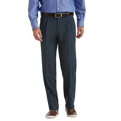 Tropical Microfiber Pleated ComfortSizer Pants