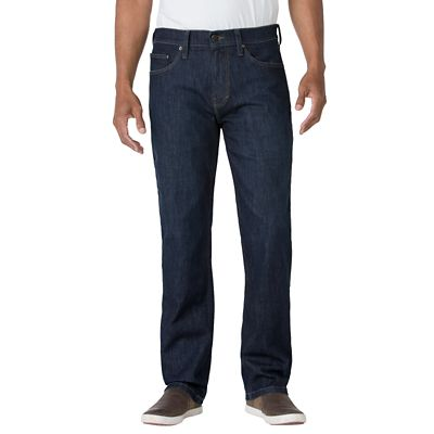 Straight Fit Comfort Denim Travel Jeans