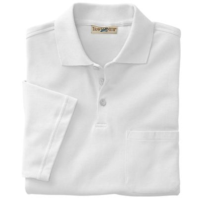 CoolMax Pocketed Short-Sleeved Polo