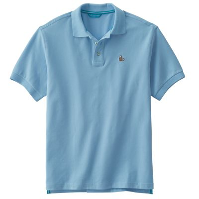 Tori Richard Thinking Monkey Pique Polo Shirt