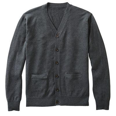 Silk-Blend Cardigan