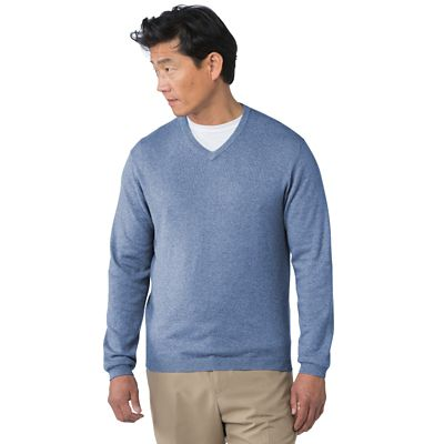 Weatherproof Cotton & Cashmere Sweater
