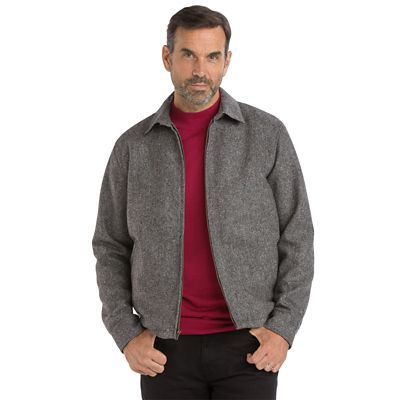 Donegal Tweed Bomber Jacket
