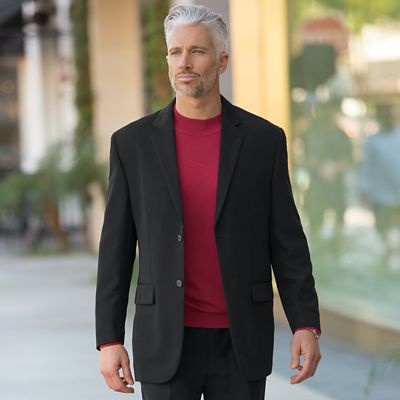 World-Class Microfiber Sport Coat