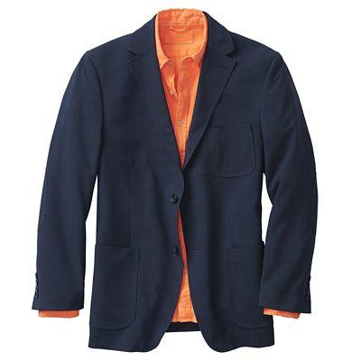 Seersucker Cross-Country Jacket
