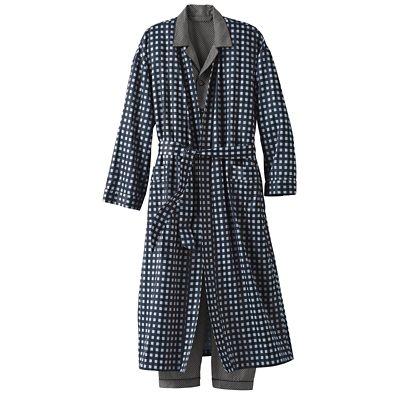 Men's Cotton Sateen Robe