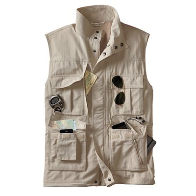 Men's 15-Pocket Voyager Vest