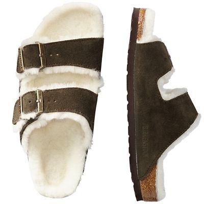 Men's Birkenstock Arizona Shearling-Lined Sandals