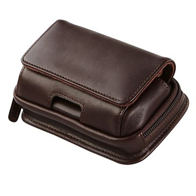 Leather Smartphone Holster with Zip Pocket