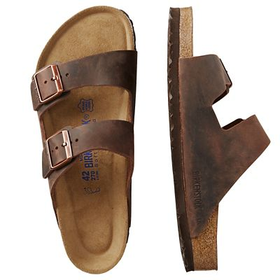 Birkenstock Oiled-Leather Arizona Sandals