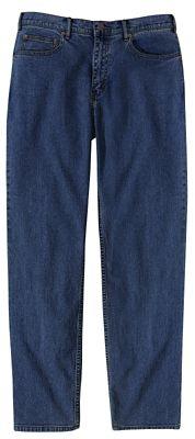 Traditional-Fit Comfort Denim Travel Jeans