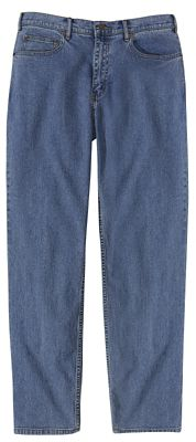 Traditional-Fit Comfort Denim Travel Jeans