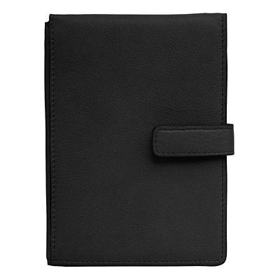 Leather RFID-Blocking Passport-Ticket Wallet