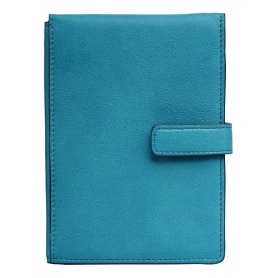Leather RFID-Blocking Passport-Ticket Wallet