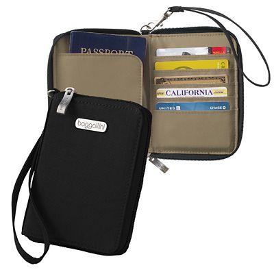 Baggallini RFID Passport Case